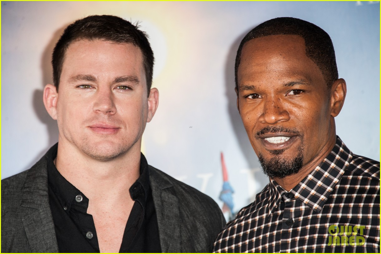 channing tatum jamie foxx white house down deauville photo call 212941639