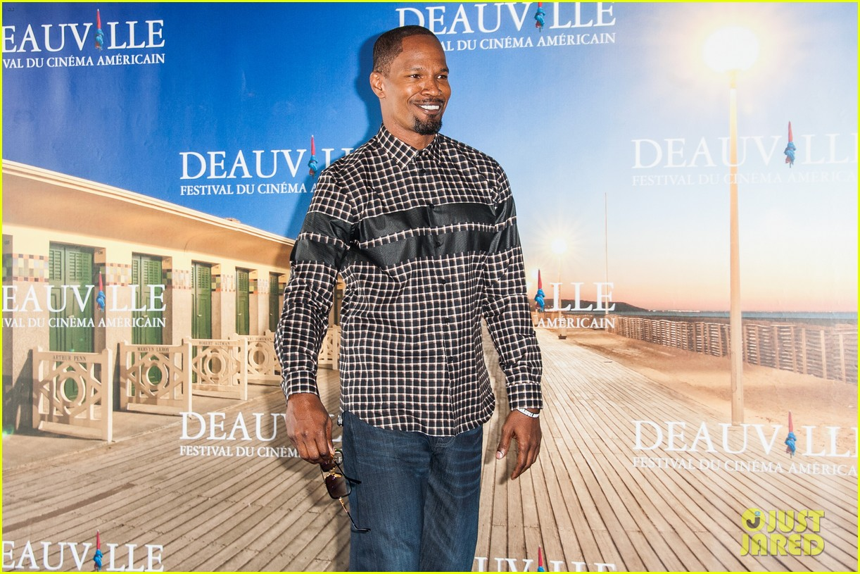 channing tatum jamie foxx white house down deauville photo call 222941640