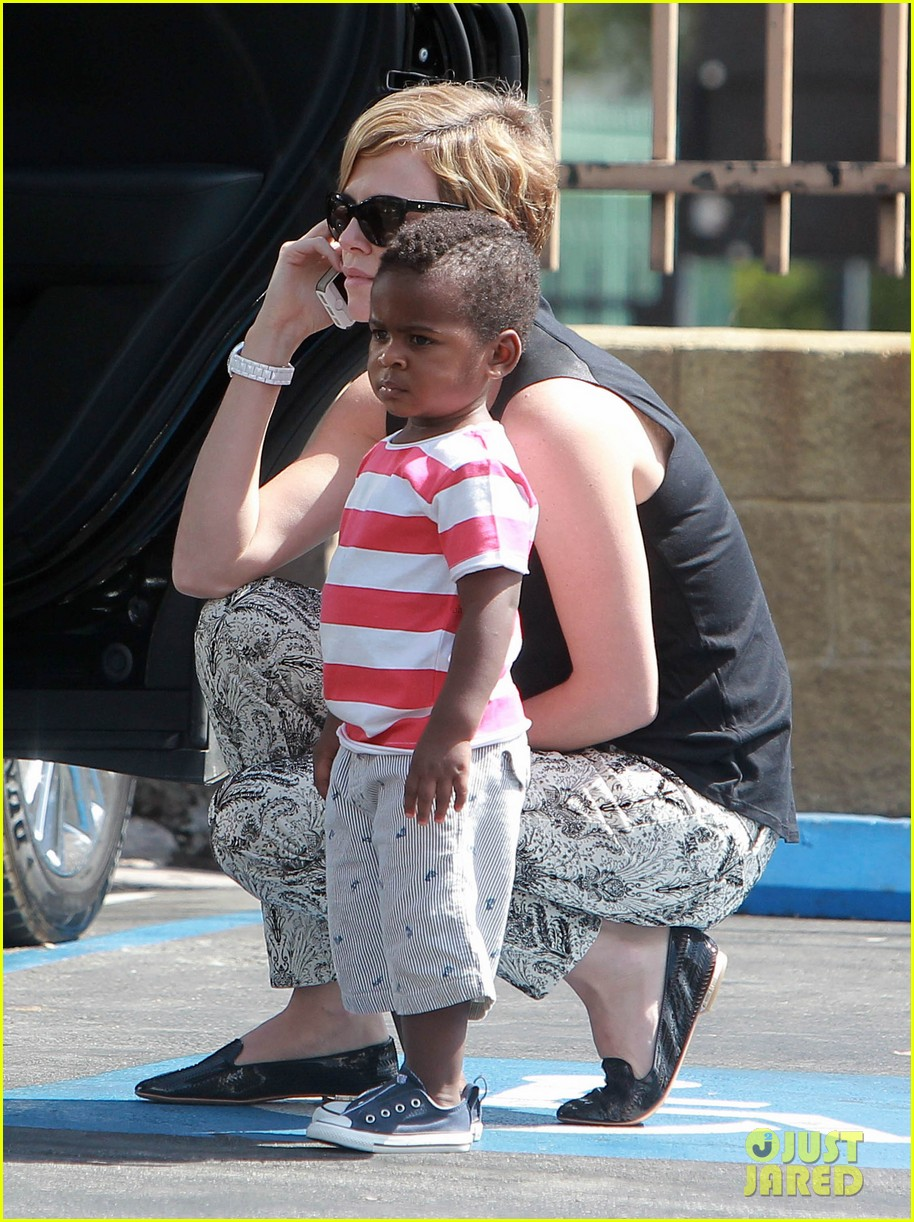 charlize theron grabs coffee with her little man jackson 112960112