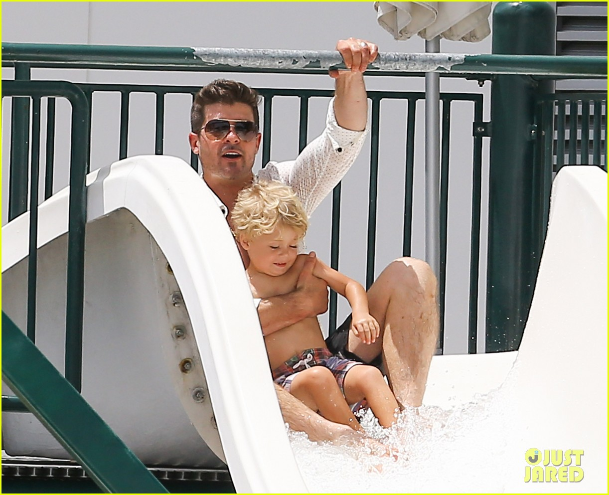 robin thicke waterslide adventures with julian 142942100