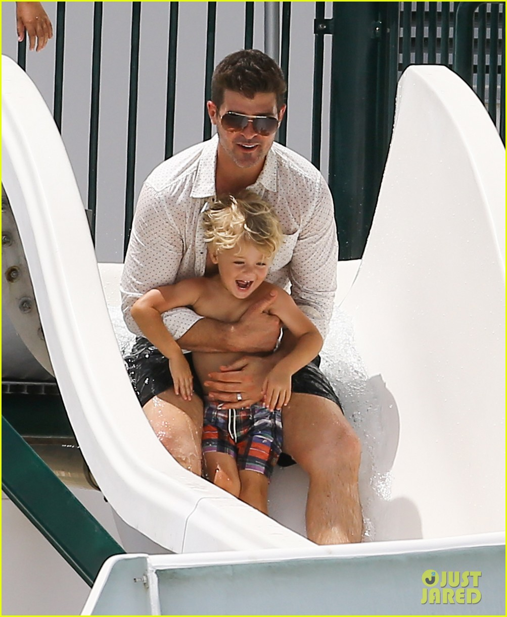 robin thicke waterslide adventures with julian 16