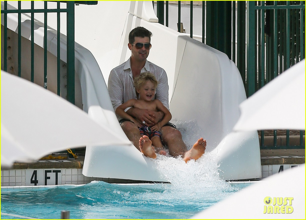 robin thicke waterslide adventures with julian 182942104