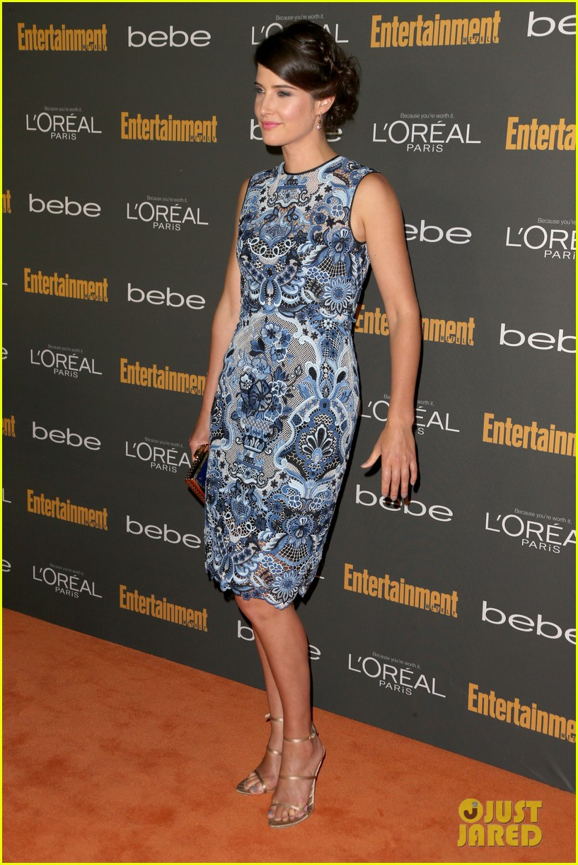 gabrielle union cobie smulders ew pre emmy party 2013 082957011