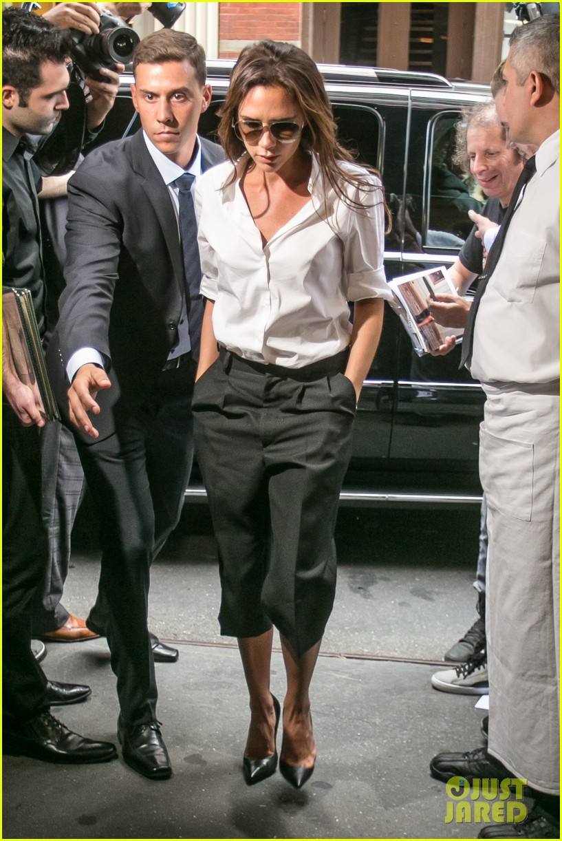 victoria beckham presents her spring collection at fashion week 232947031
