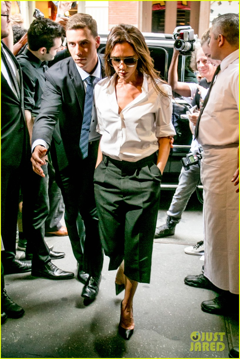 victoria beckham presents her spring collection at fashion week 242947032