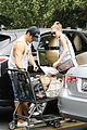 emily vancamp josh bowman get groceries at gelsons 05