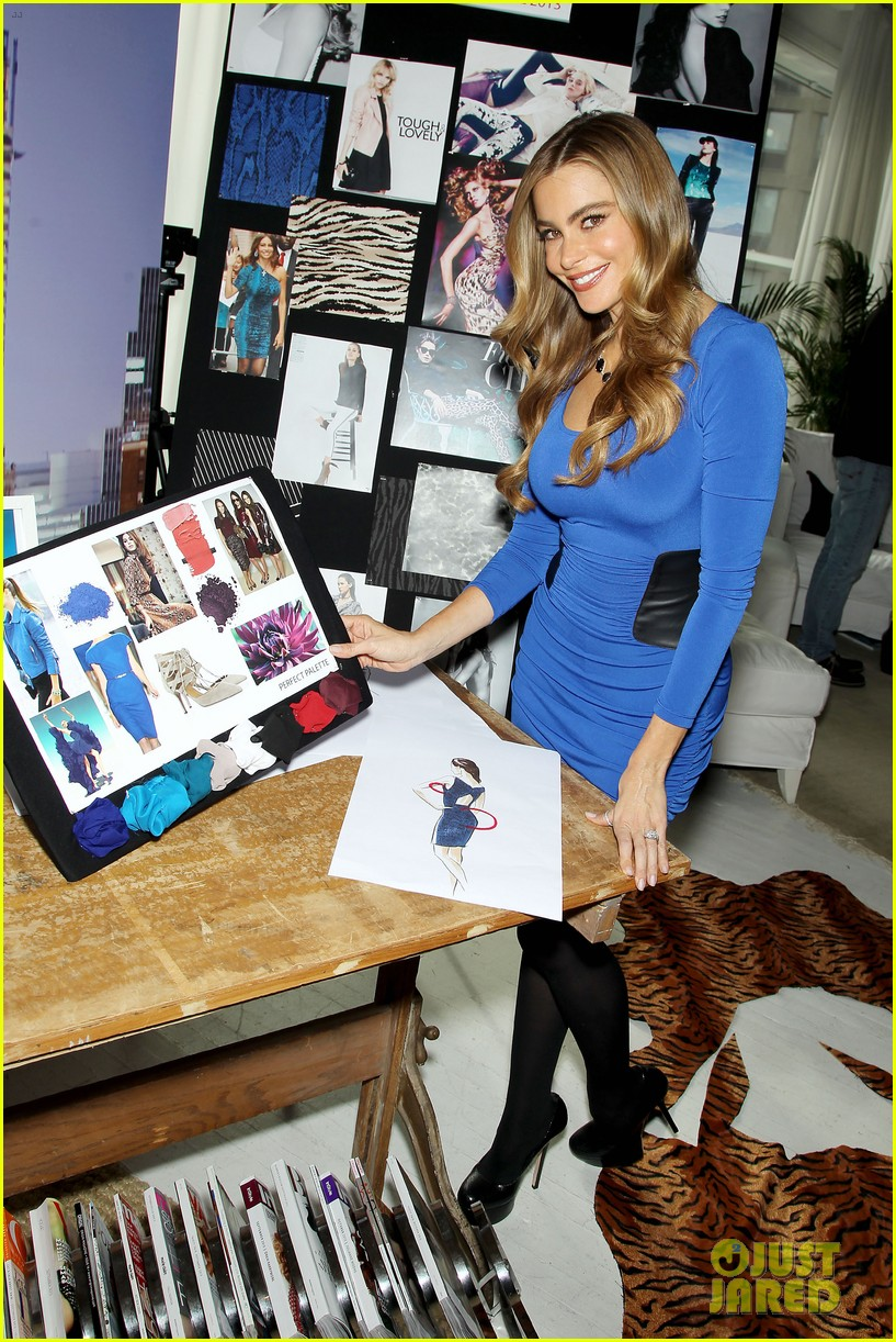 sofia vergara celebrates fall holiday collections for kmart 222959995