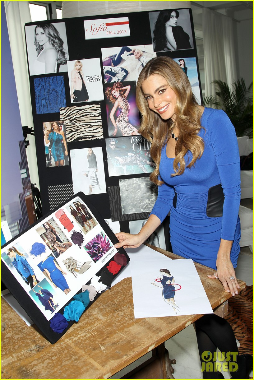 sofia vergara celebrates fall holiday collections for kmart 232959996