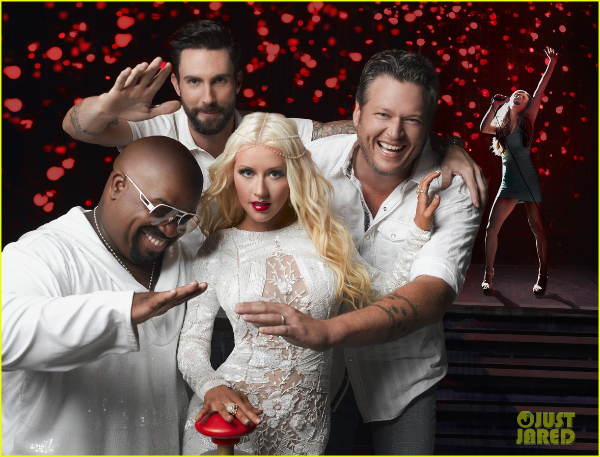 the voice coaches sing i love rock n roll watch now