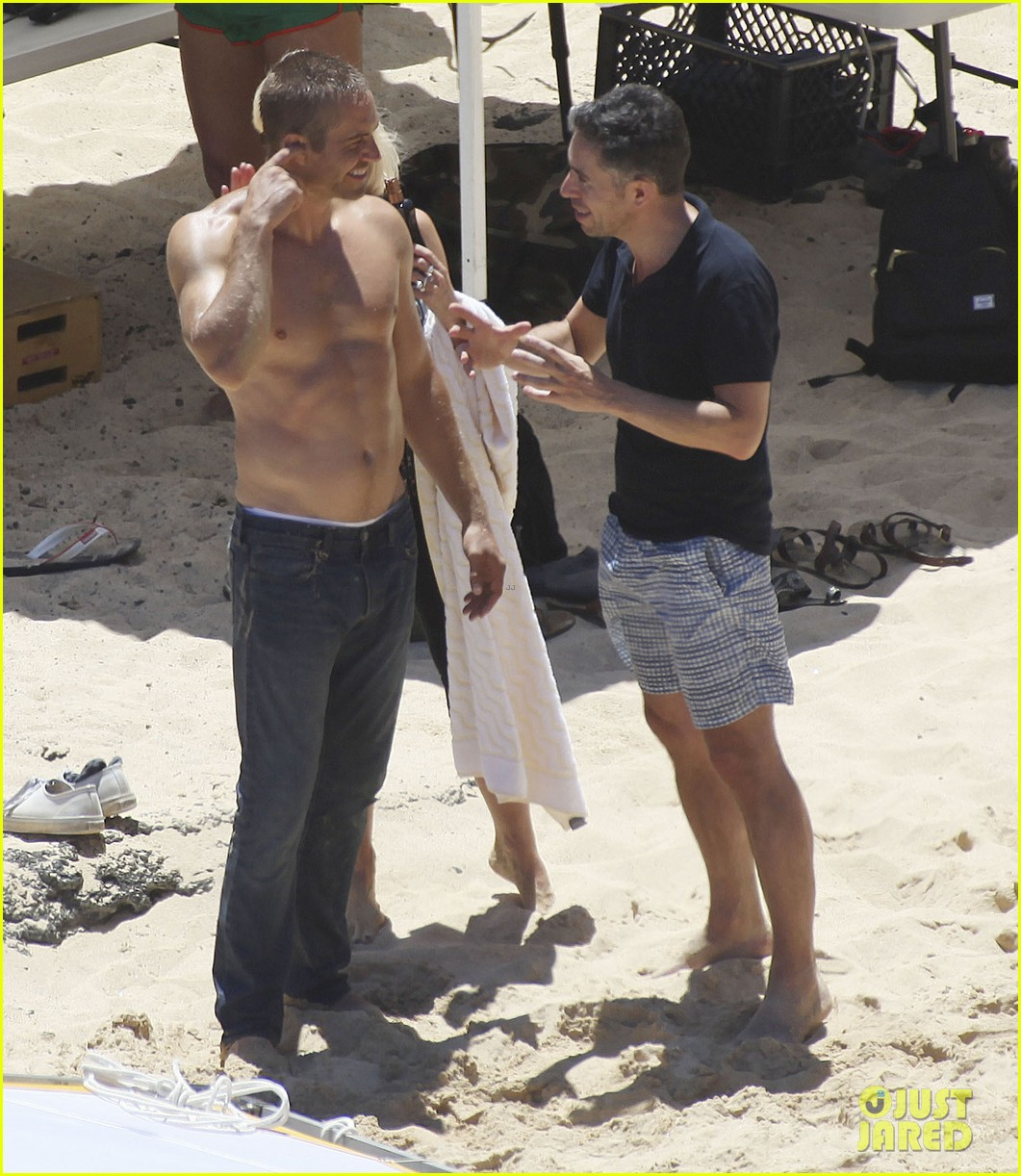 paul walker shirtless cool water cologne photo shoot 102945028