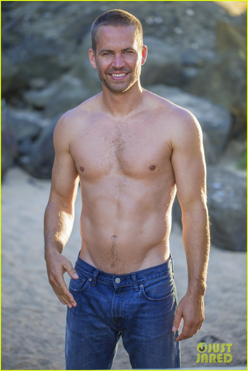 Paul Walker: Shirtless in Official Fragrance Shoot Photo