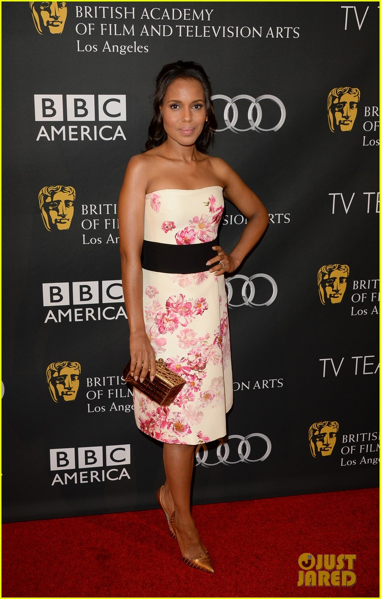 kerry washington michelle dockery bafta la tv tea party 012956984