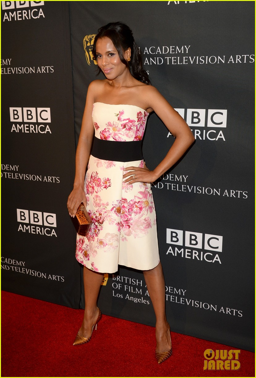 kerry washington michelle dockery bafta la tv tea party 08