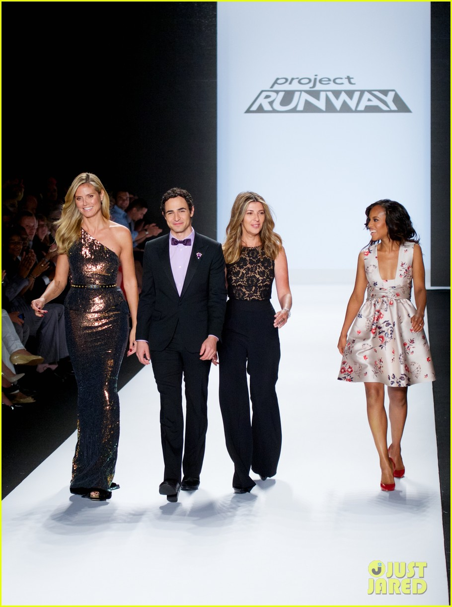 kerry washington heidi klum project runway fashion show 072945153
