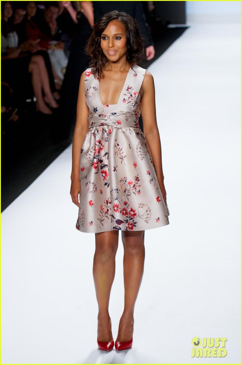 kerry washington heidi klum project runway fashion show 082945154
