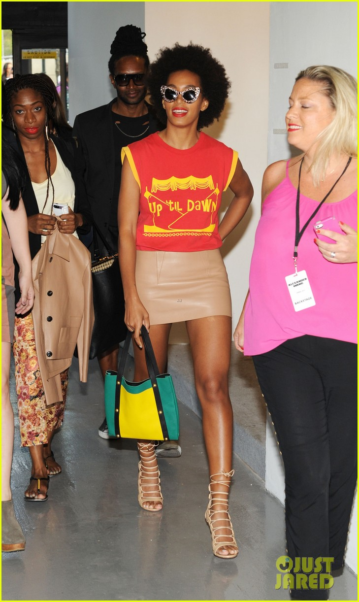 kerry washington kanye west alexander wang show 032946577