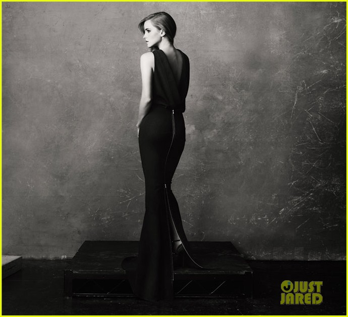emma watson covers the edit in sustainably produced dress 022955746
