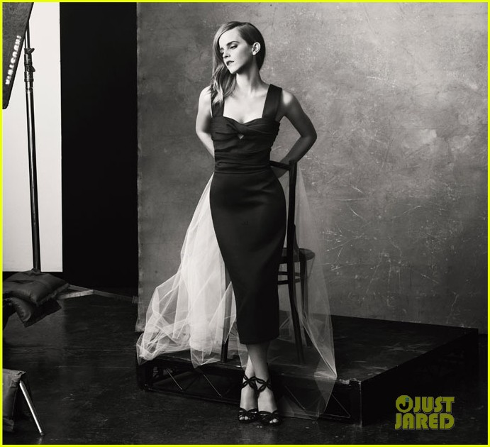 emma watson covers the edit in sustainably produced dress 042955748