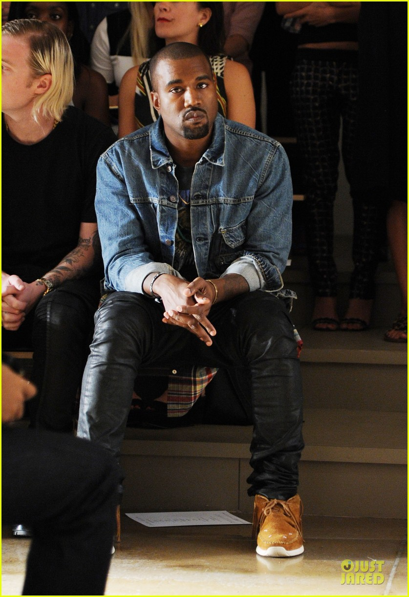 kanye west louise goldin fashion show 052946042