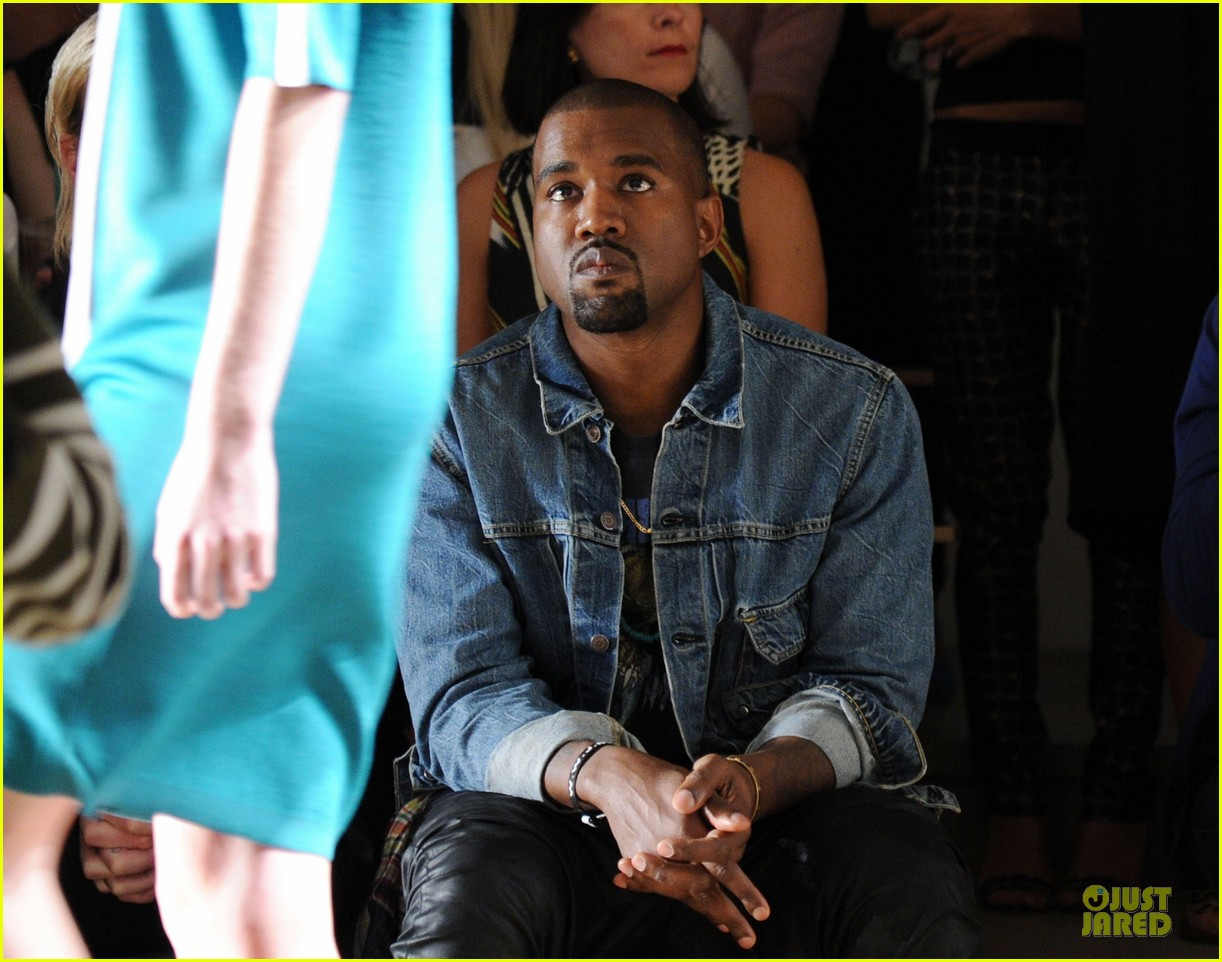 kanye west louise goldin fashion show 122946049