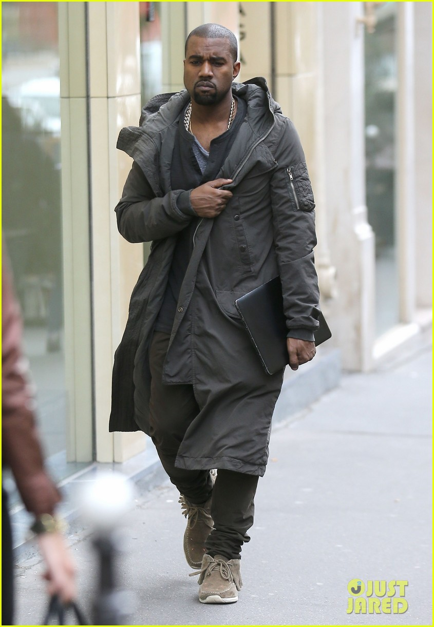kanye west promotes yeezus in paris 012954625