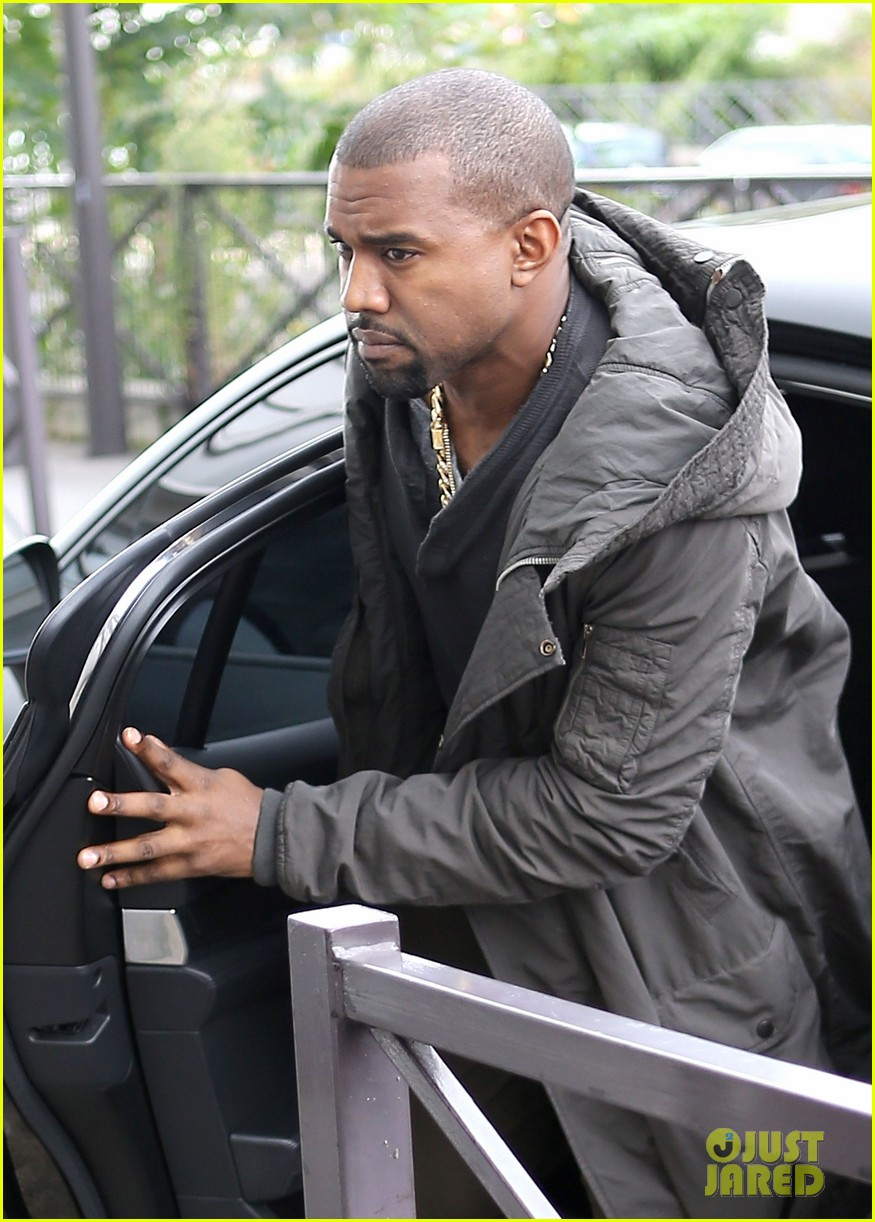 kanye west promotes yeezus in paris 022954626