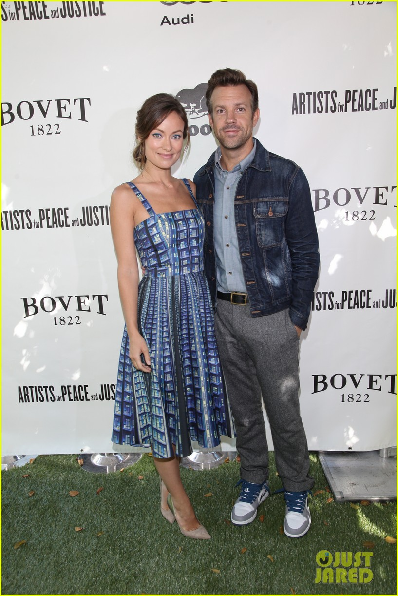 olivia wilde jason sudeikis artists for peace tiff lunch 022947704