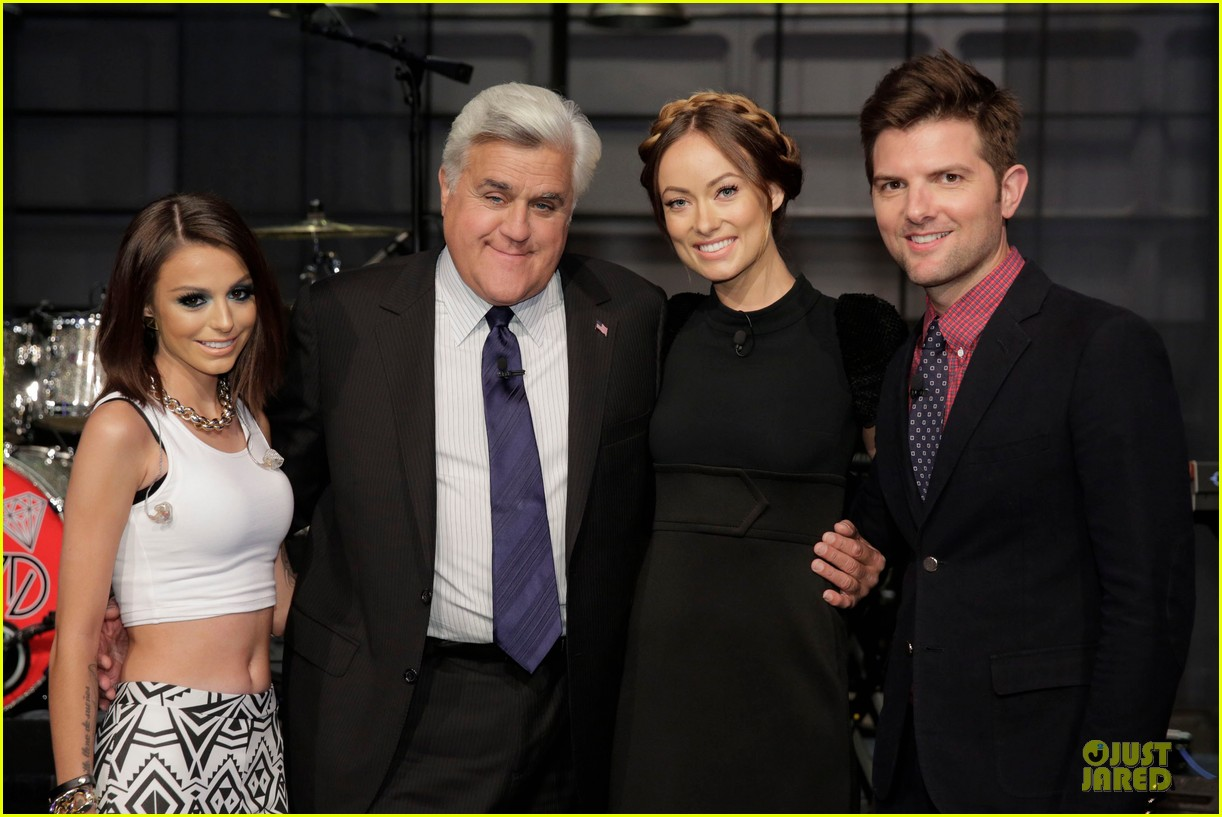 olivia wilde cher lloyd tonight show with jay leno guests 022959464