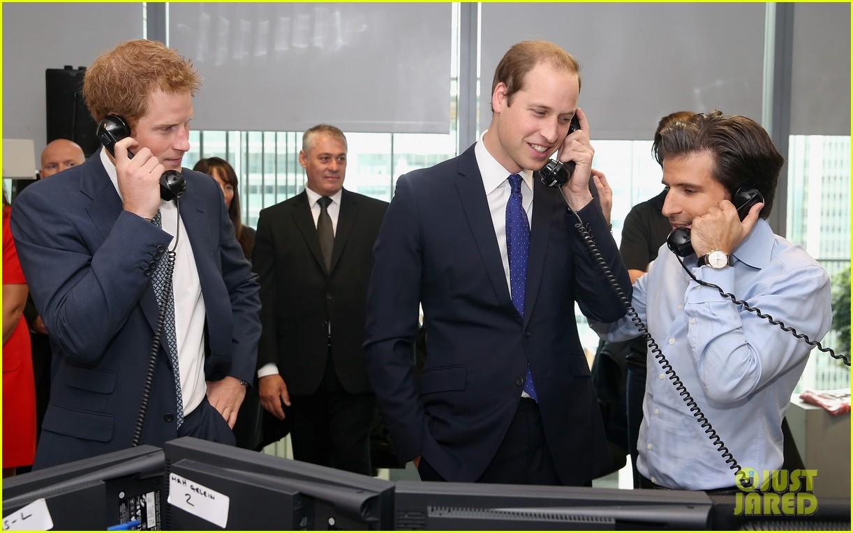prince william prince harry help broker billion dollar deal during 911 fundraiser 052950053