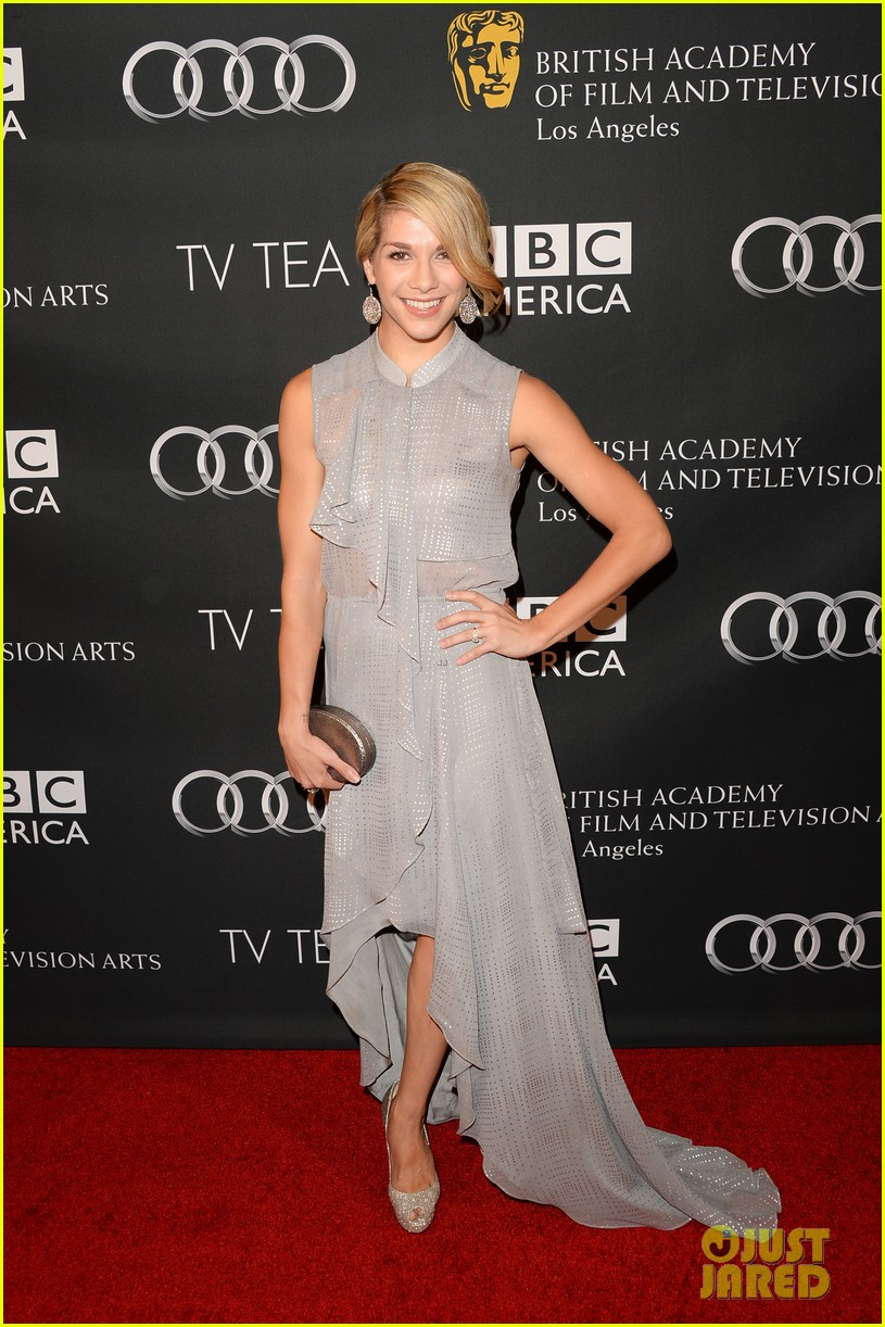 allison williams ashley madekwe bafta la tv tea party 08