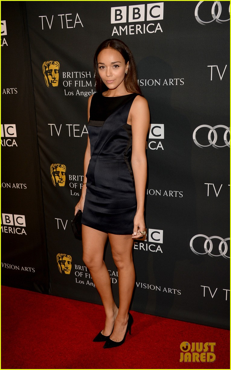 allison williams ashley madekwe bafta la tv tea party 122957042