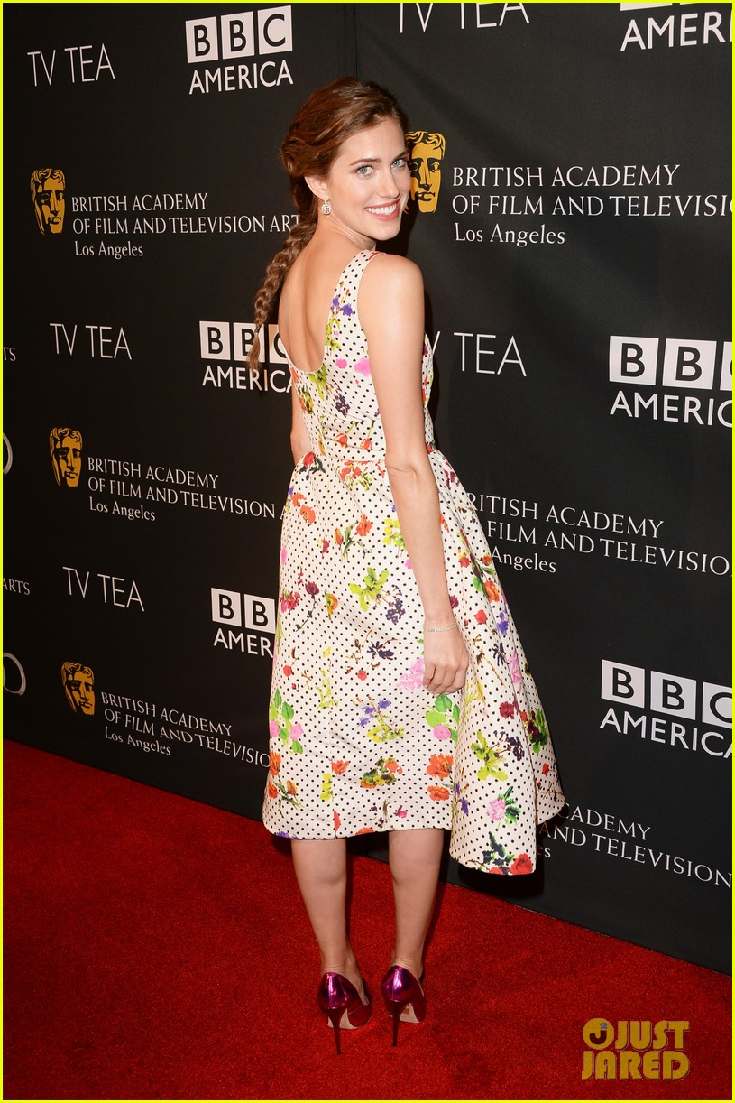 allison williams ashley madekwe bafta la tv tea party 13