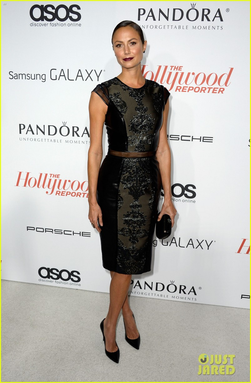 allison williams stacy keibler thrs emmy party 362955973