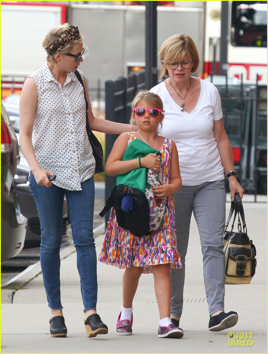 michelle williams goes wild with matilda after birthday 062949589