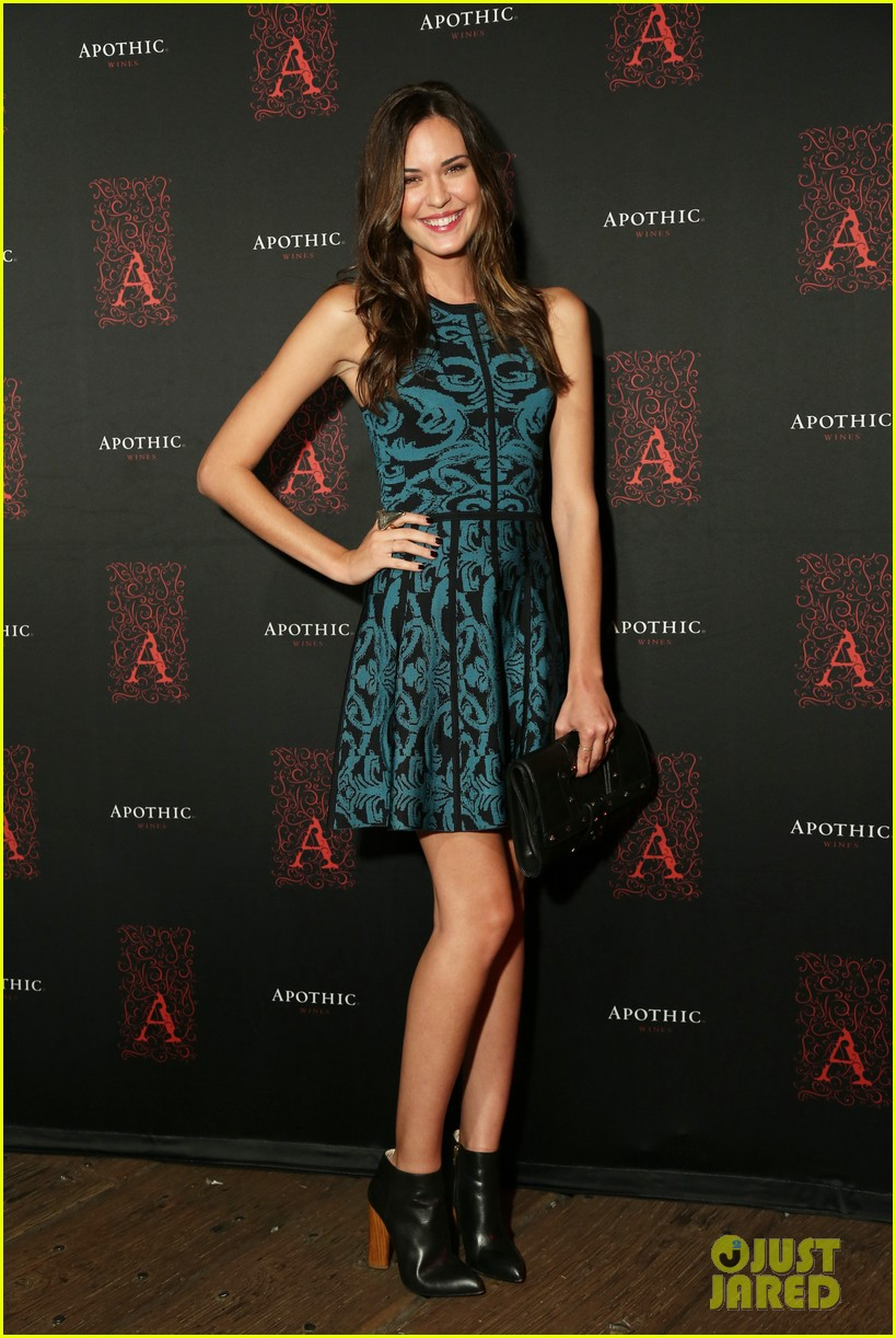 odette annable jamie ching apothic dark wine launch 08