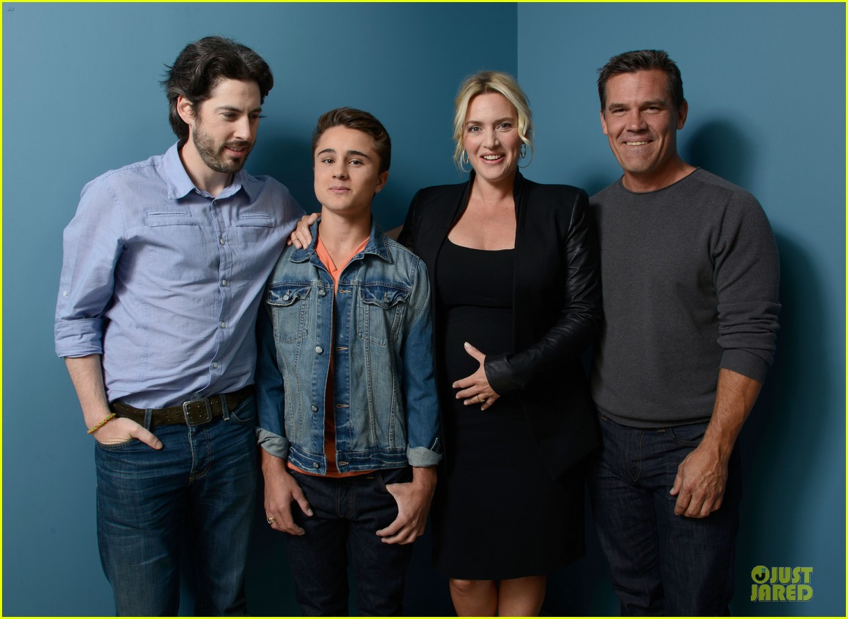 Kate Winslet  amp  Josh Brolin   Labor Day  TIFF Portraits Josh Brolin Kids