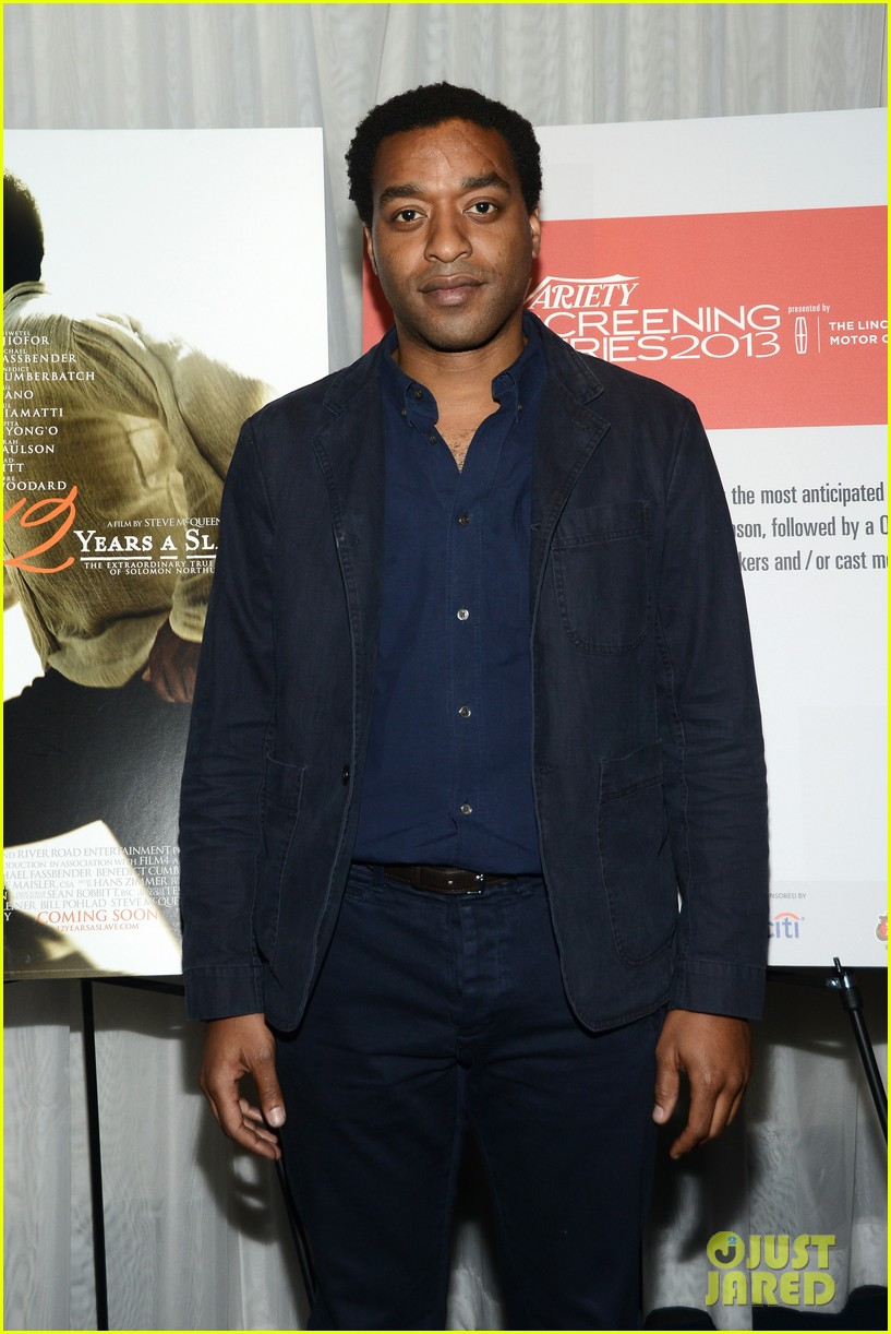 chiwetel ejiofor 12 years a slave bfi photo call 082974462