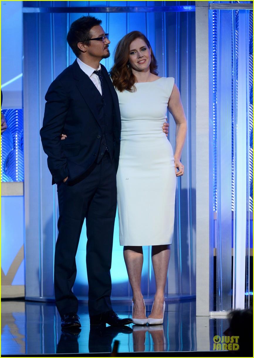 Amy Adams & Jeremy Renner: Hollywood Film Awards 2013! Amy Adams