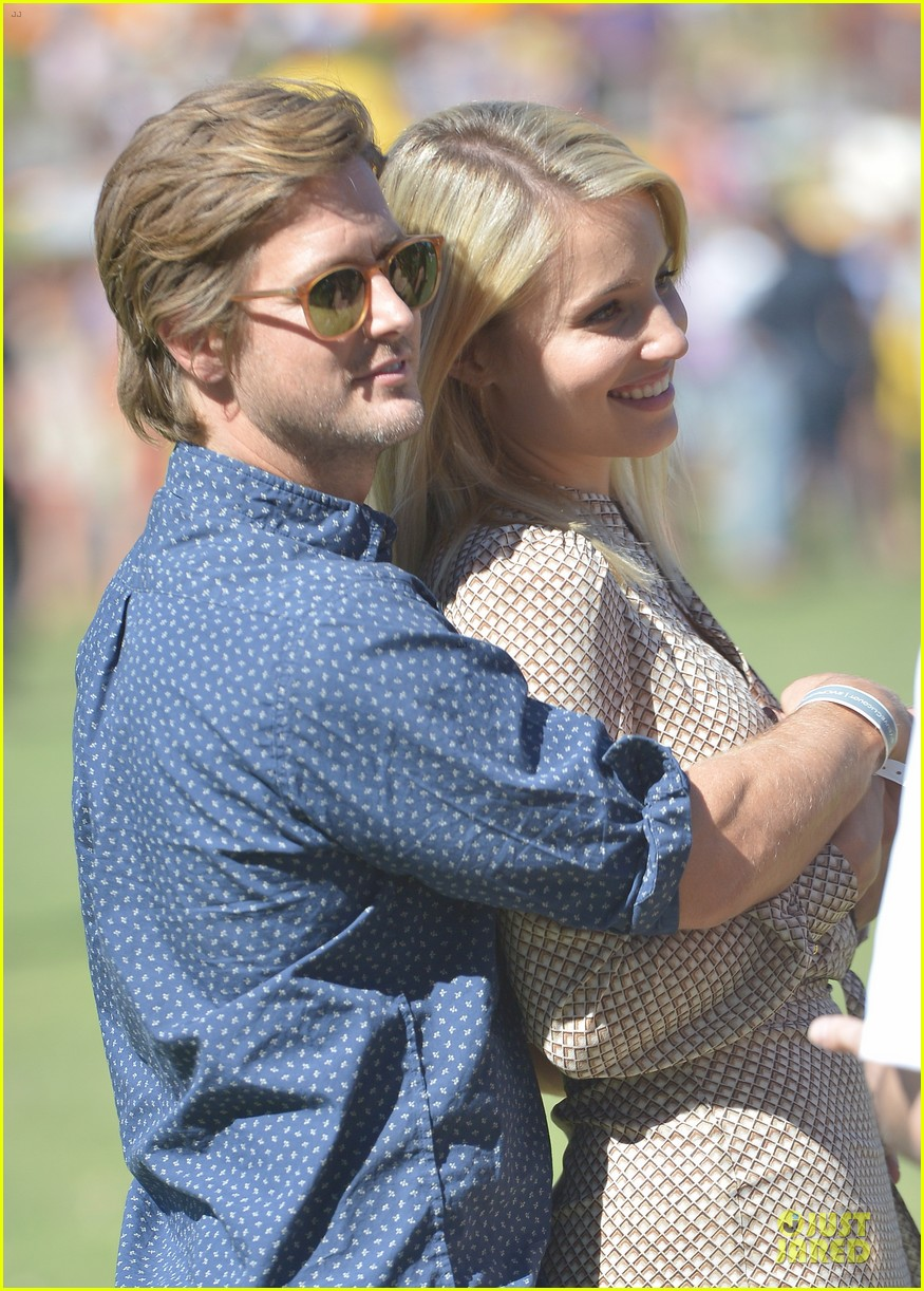 dianna agron nick mathers veuve clicquot polo classic 2013 022966947
