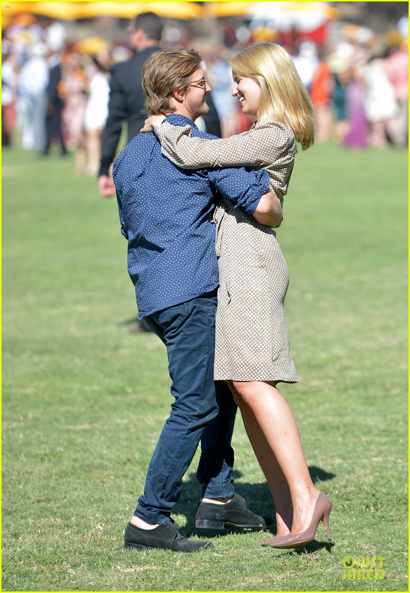 dianna agron nick mathers veuve clicquot polo classic 2013 092966954