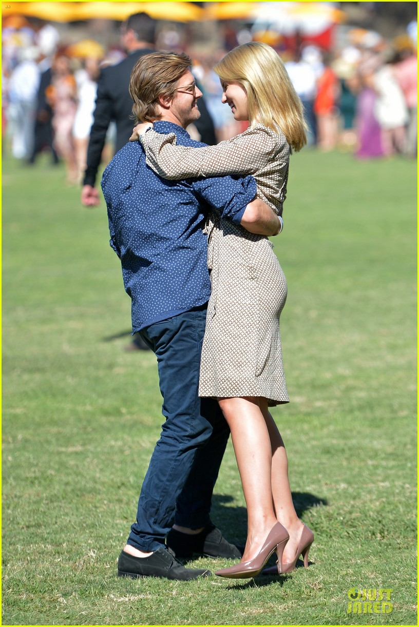 dianna agron nick mathers veuve clicquot polo classic 2013 112966956