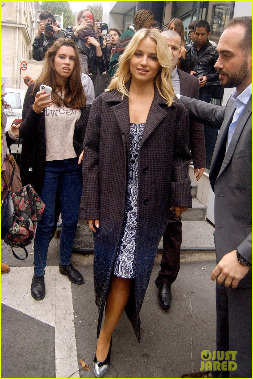 dianna agron promotes the family in paris 132973337