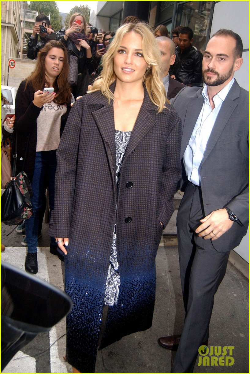 dianna agron promotes the family in paris 14