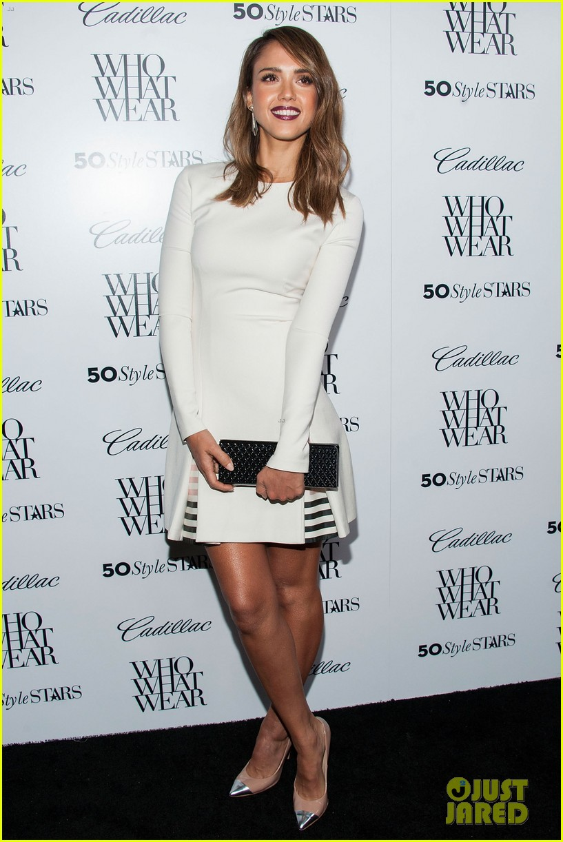 jessica alba nicole richie cadillacs 50 most fashionable women of 2013 032978959