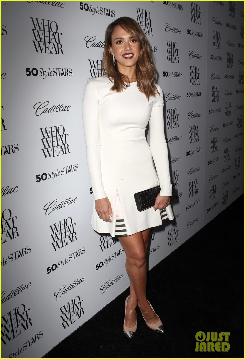 jessica alba nicole richie cadillacs 50 most fashionable women of 2013 332978989