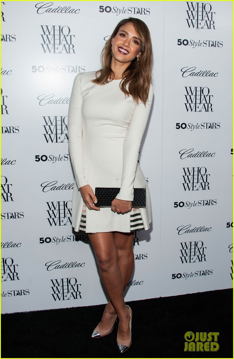 jessica alba nicole richie cadillacs 50 most fashionable women of 2013 362978992