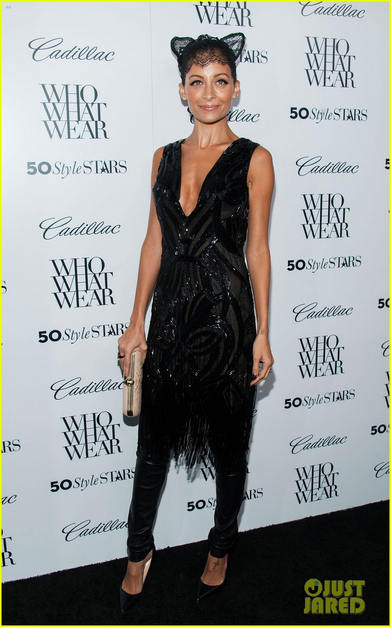 jessica alba nicole richie cadillacs 50 most fashionable women of 2013 382978994