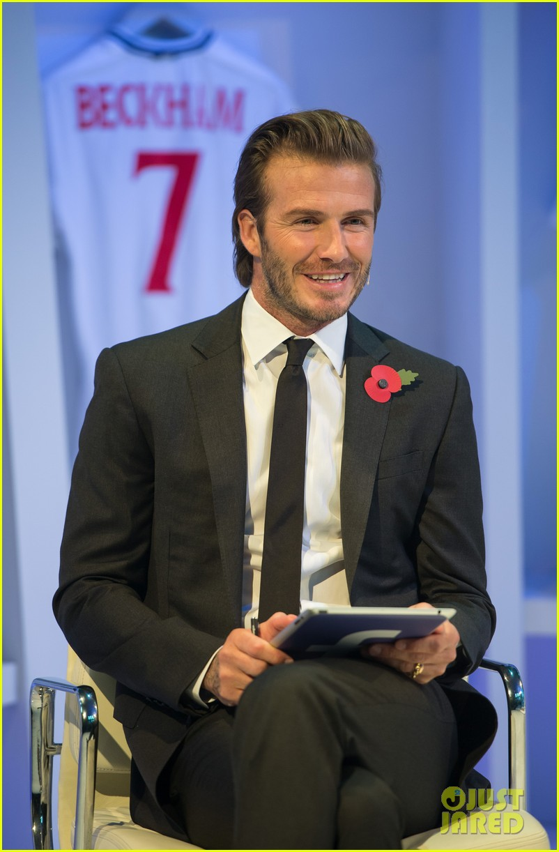 david beckham facebook global book signing 042982940