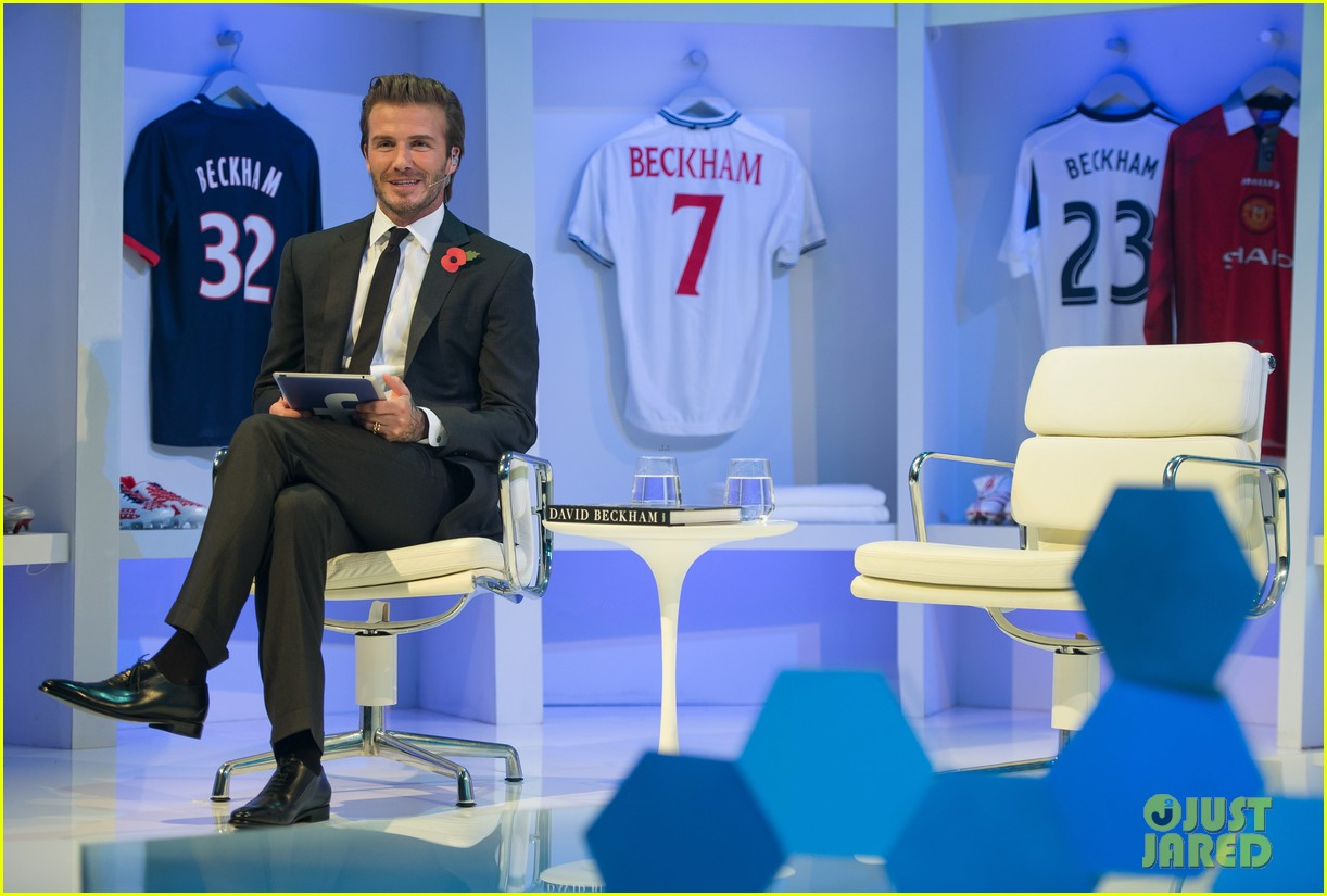 david beckham facebook global book signing 10