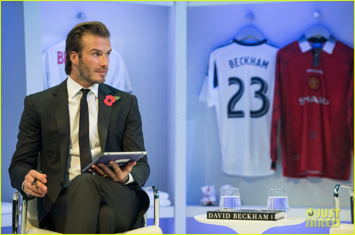 david beckham facebook global book signing 132982949